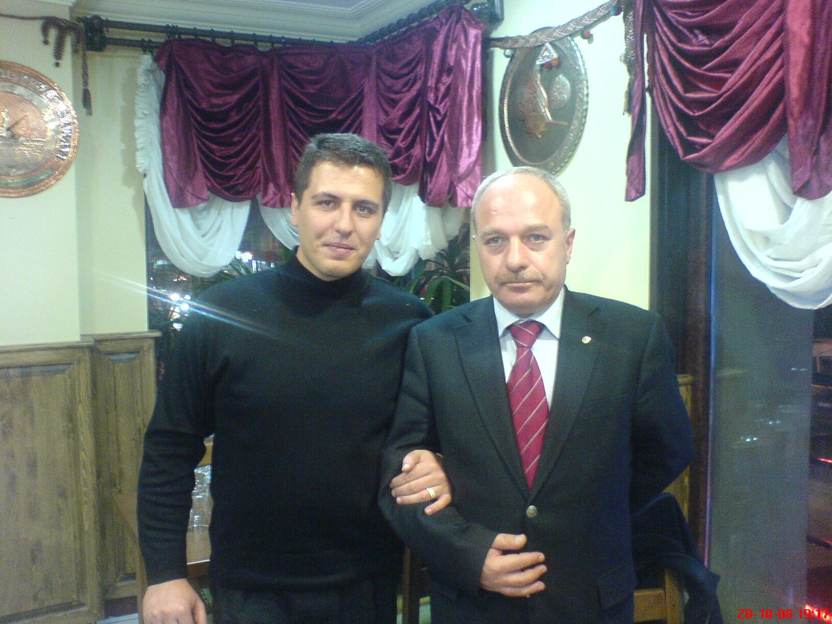 Emekli Albay Erdal Sarızeybek ile (2009)